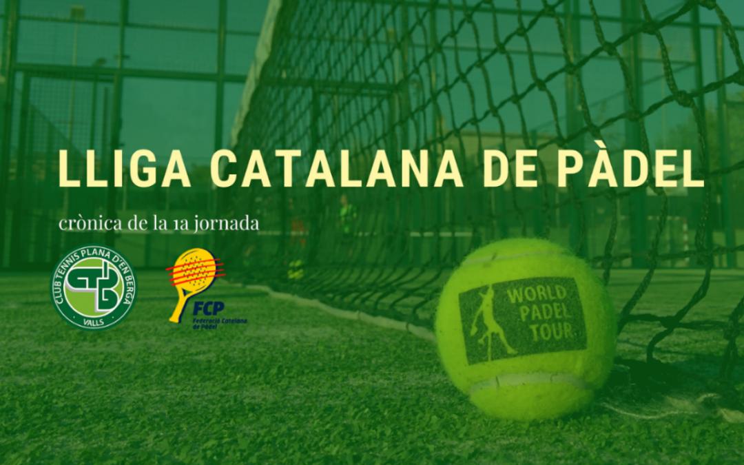 Lliga Catalana de Pàdel en marxa!