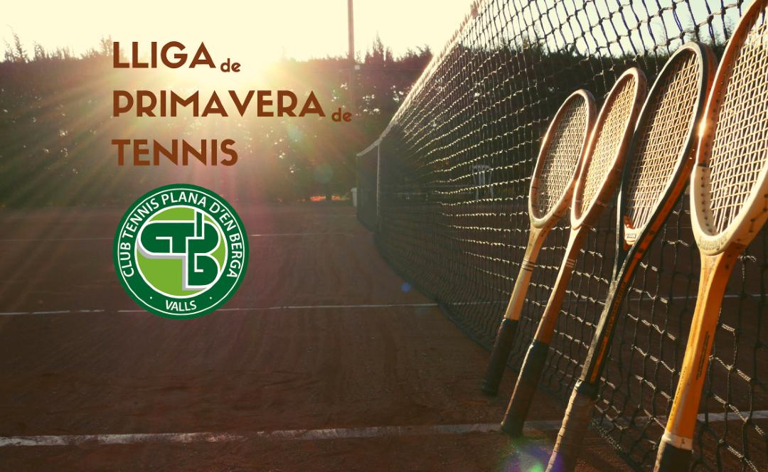 Inscripcions obertes per la Lliga de Primavera de Tennis