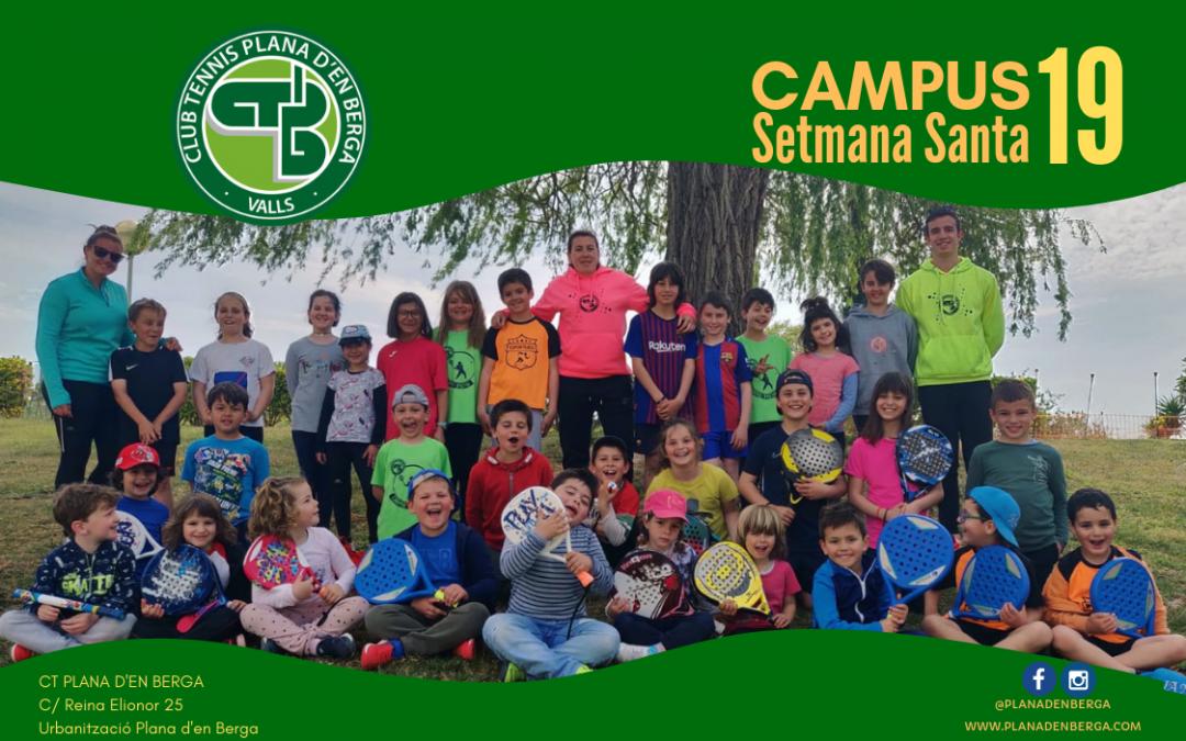 Finalitza el Campus de Setmana Santa del CT Plana d'en Berga