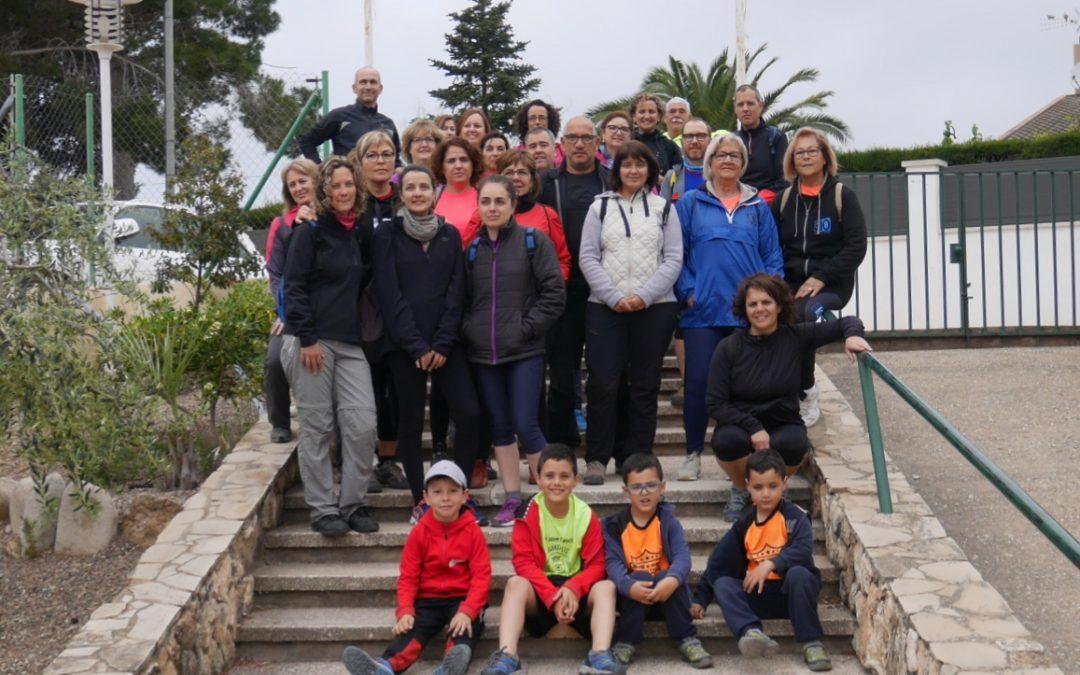30 participants a la Caminada de la Plana