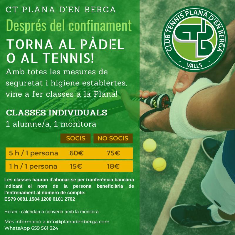 Padel i Tennis PlanaDenberga Valls