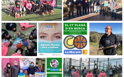 El nostre club amb la Marató del CB Valls!