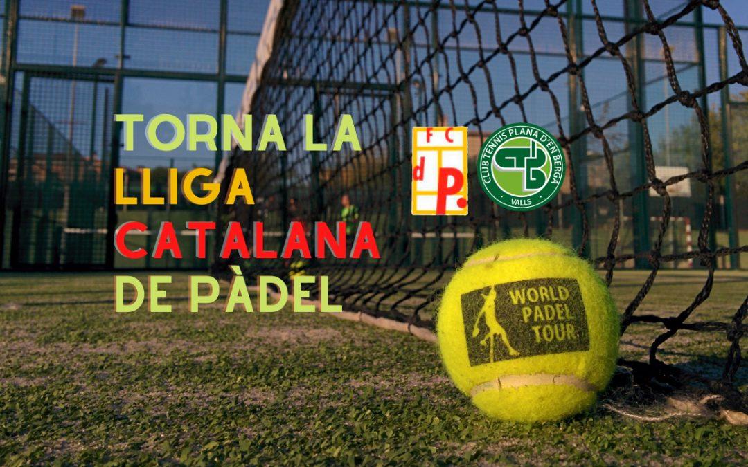 Torna la Lliga Catalana de Pàdel