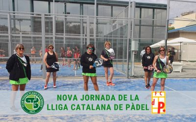 Nova jornada de la Lliga Catalana de Pàdel a la Plana d'en Berga