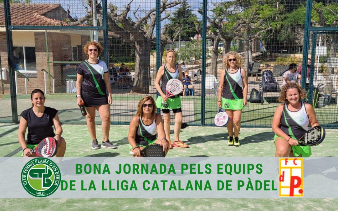 Bons resultats en la Lliga Catalana de Pàdel a la Plana d'en Berga