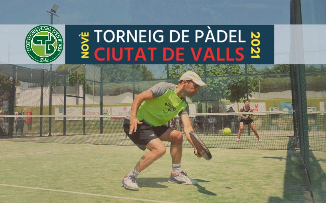 Eli Sans i Xavier Cebrian, campions de la Categoria Mixta del 9è Torneig de pàdel Ciutat de Valls