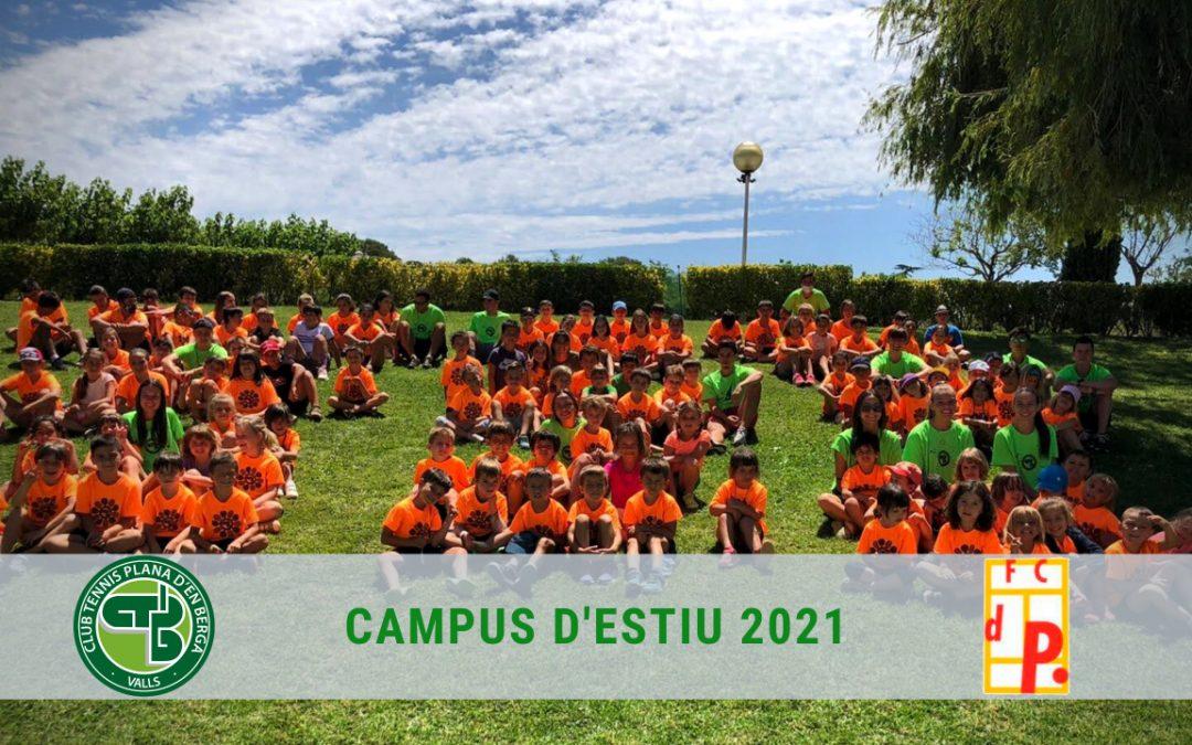 Gran èxit del Campus d'Estiu 2021!
