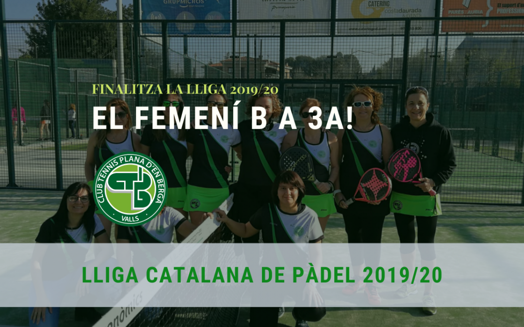 Ascens a 3a Categoria del Femení B!