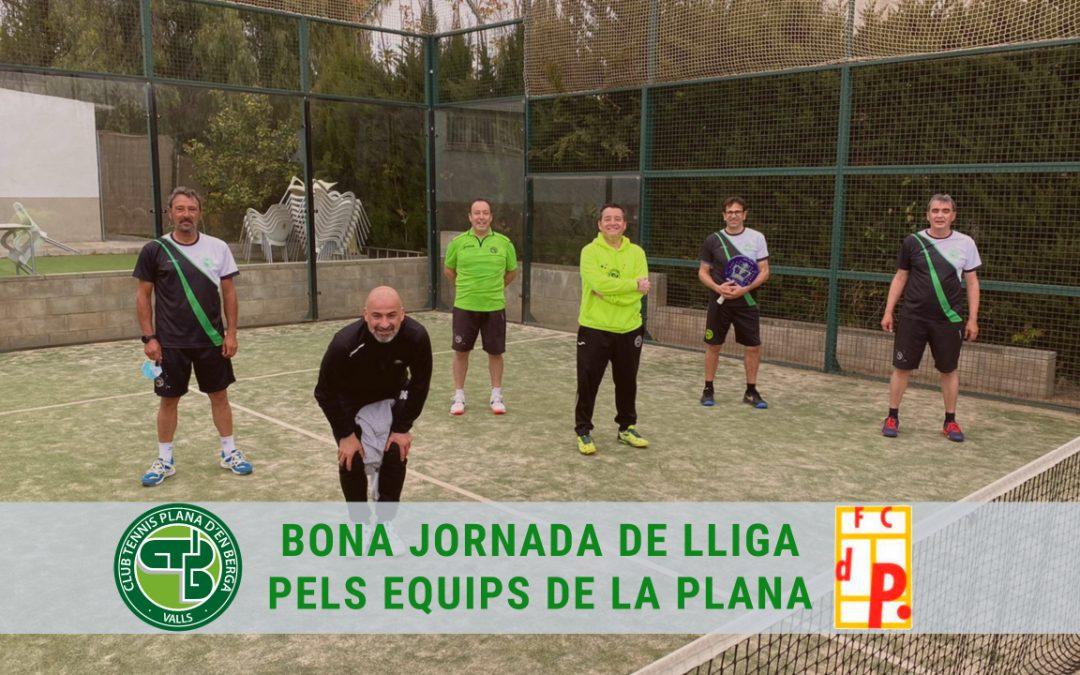 Bon cap de setmana pels equips de la Plana a Lliga Catalana de Pàdel