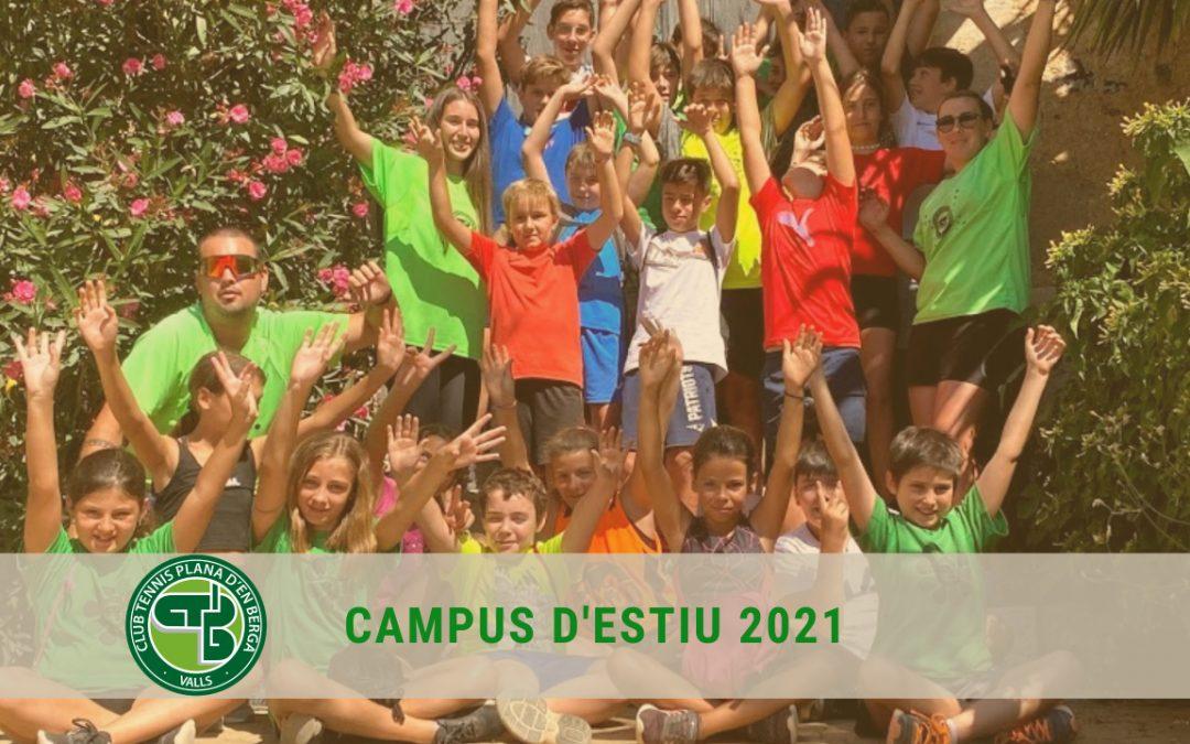 CAMPUS D'ESTIU 2021!