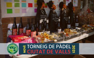 Ferrer-Navarro i Rosell-Cebrian, campions del 9è Torneig de Pàdel Ciutat de Valls